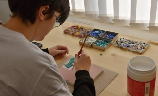 Inkubátor talentů - mozaika