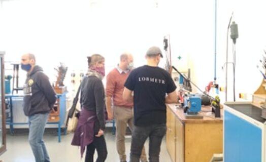 Lobmeyer návštěva